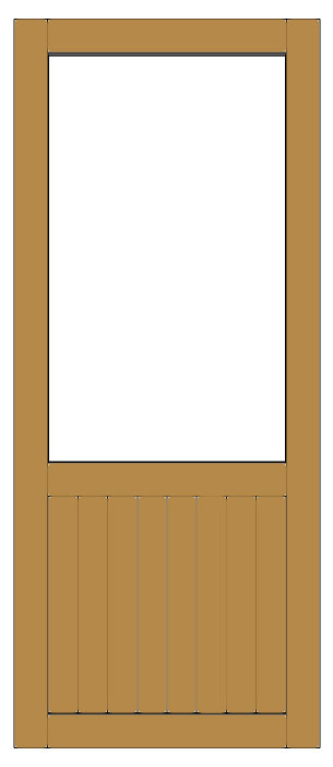 Porte Intimité sans corbeaux
